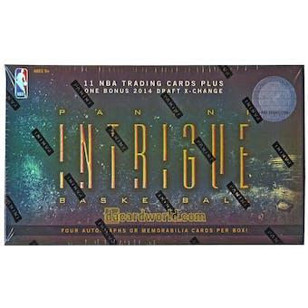 2013/14 Panini Intrigue Basketball Hobby Box