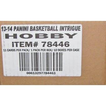 2013/14 Panini Intrigue Basketball Hobby 10-Box Case