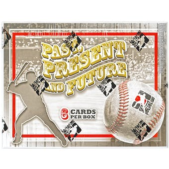 2014 In The Game Past, Present, & Future Baseball Hobby Box