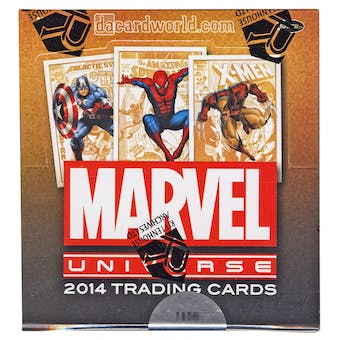 Marvel Universe Trading Cards Box (Rittenhouse 2014)