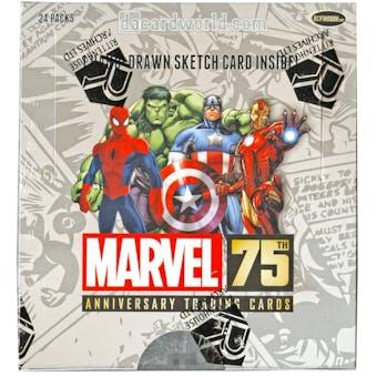 Marvel 75th Anniversary Hobby Box (Rittenhouse 2014)
