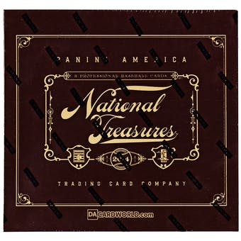 2014 Panini National Treasures Baseball Hobby Box