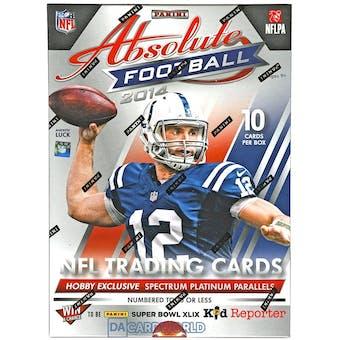 2014 Panini Absolute Football Hobby Box