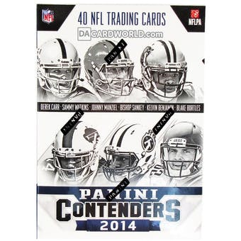 2014 Panini Contenders Football 5-Pack Box
