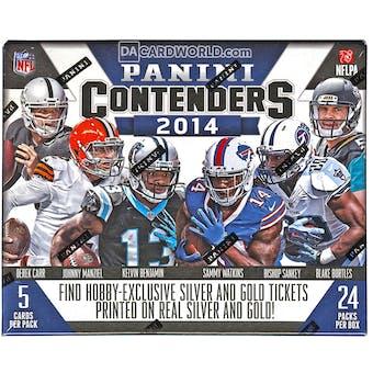 2014 Panini Contenders Football Hobby Box