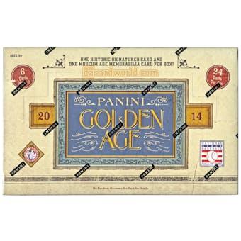 2014 Panini Golden Age Baseball Hobby Box