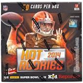 2014 Panini Hot Rookies Football Hobby Box