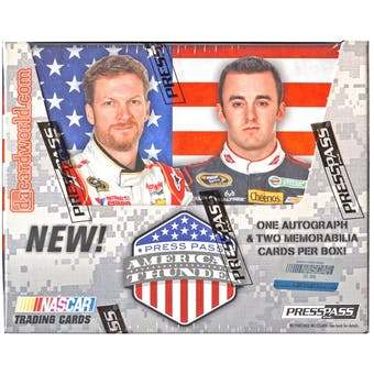 2014 Press Pass Wheels American Thunder Racing Hobby Box
