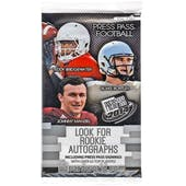 2014 Press Pass Football Retail Pack