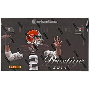 2014 Panini Prestige Football Hobby Box