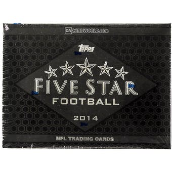 2014 Topps Five Star Football Hobby Box