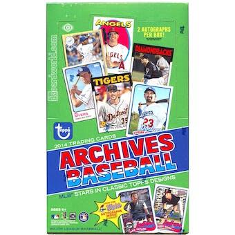 2014 Topps Archives Baseball Hobby Box