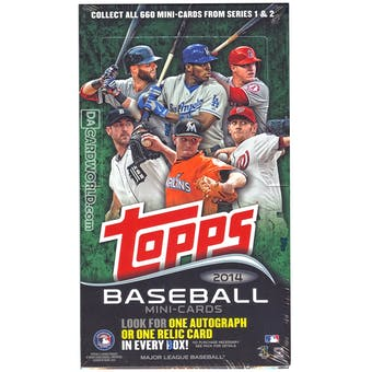 2014 Topps Mini Baseball Hobby Box
