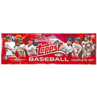 2014 Topps Factory Set Baseball Hobby (Box)