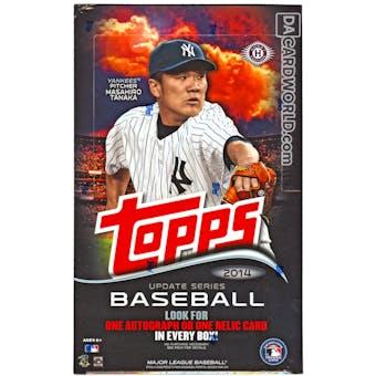 2014 Topps Update Baseball Hobby Box