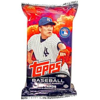 2014 Topps Update Baseball Jumbo Pack