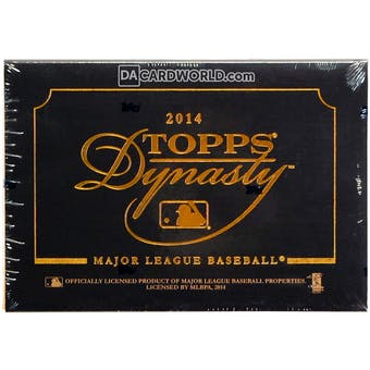 2014 Topps Dynasty Baseball Hobby Box