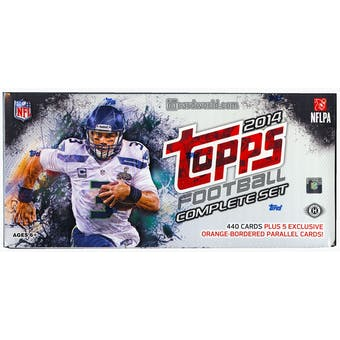2014 Topps Factory Set Football Hobby (Box)