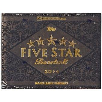 2014 Topps Five Star Baseball Hobby Box
