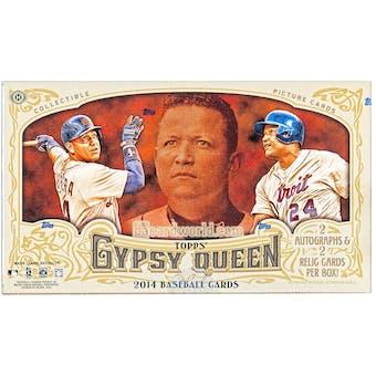 2014 Topps Gypsy Queen Baseball Hobby Box