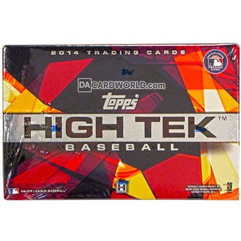 2014 Topps High Tek Baseball Hobby Box