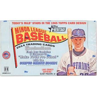2014 Topps Heritage Minor League Baseball Hobby Box