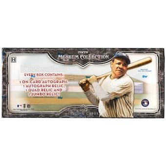 2014 Topps Museum Collection Baseball Hobby Box