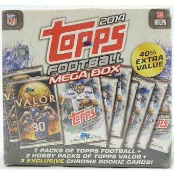 2014 Topps Football Mega Box