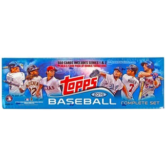 2014 Topps Factory Set Baseball (Box)