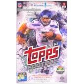 2014 Topps Football Hobby Box