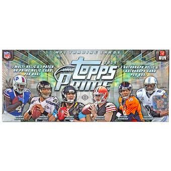2014 Topps Prime Football Hobby Box
