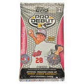 2014 Topps Pro Debut Baseball Hobby Pack