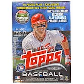 2014 Topps Series 1 Baseball 10-Pack Box (Reed Buy)
