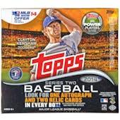 2014 Topps Series 2 Baseball Jumbo Box