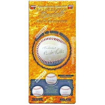 2014 TriStar Game Changers Baseball Hobby Box