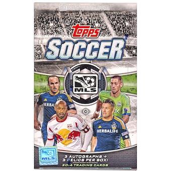 2014 Topps MLS Soccer Hobby Box