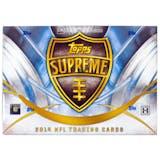 2014 Topps Supreme Football Hobby Box