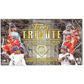 2014 Topps Tribute Baseball Hobby Box