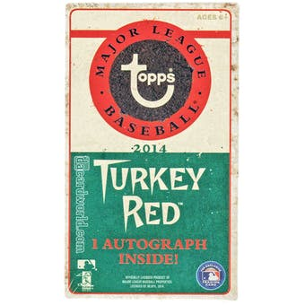 2014 Topps Turkey Red Baseball Box