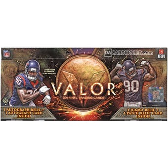 2014 Topps Valor Football Hobby Box