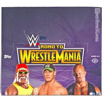 2014 Topps WWE Road to Wrestlemania Wrestling Hobby Box