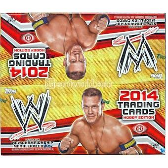 2014 Topps WWE Wrestling Hobby Box