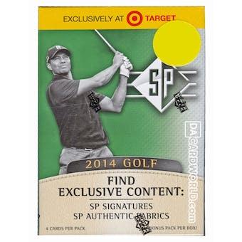 2014 Upper Deck SP Golf 8-Pack Box