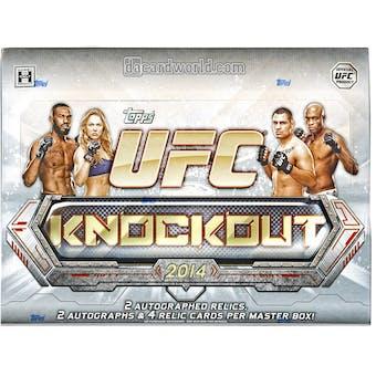 2014 Topps UFC Knockout Hobby Box