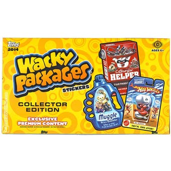 Wacky Packages Series 1 Collector's Edition Hobby Box (Topps 2014)