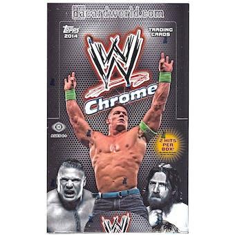 2014 Topps WWE Chrome Wrestling Hobby Box