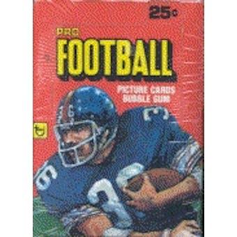 1980 Topps Football Wax Box