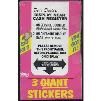 Garbage Pail Kids Series 1 Counter Display Box (1985-88 Topps)