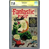 Fantastic Four #1 CGC 7.0 (OW-W) Signature Series *1508422001*