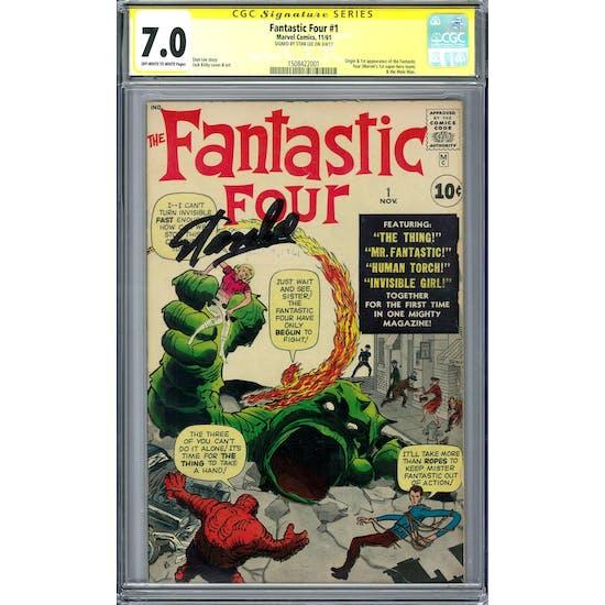 Fantastic Four #1 CGC 7.0 (OW-W) Signature Series *1508422001*